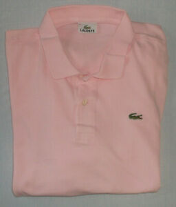 Lacoste Poloshirt Gr. 9 oder XXXL rosa 3XL