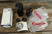 Canon Lens FD 200mm 1:4 BOXED (Canon FD mount)