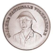 10 Mark Gedenkmünze, 20 Jahre Nationale Volksarmee