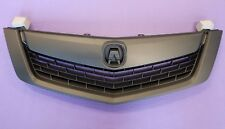 ACURA TSX 2009 2010 Front Bumper Upper Grill Grille All Black w/ Black MOULDING