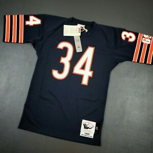 100% Authentic Walter Payton Mitchell & Ness 1985 Bears Jersey Size 36 S Mens