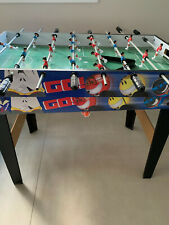 Kids Billiard Table Game / Soccer Table Game 2 in 1 Table Set