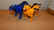 Power Rangers Jungle Fury Pride Megazord Cheetah & Jaguar Cat Lion Zord