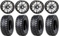 "STI HD9 14"" Bdlk Wheels MH (6+1) 31"" Chicane RX Tires Sportsman RZR Ranger"