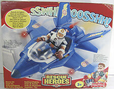 2000 FISHER PRICE RESCUE HEROES RESCUE SUPER JET MADE IN CHINA MISB (n)