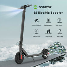 Folding Electric Scooter Waterproof Safe E-Scooter 250W Motor Ultralight E-Bike
