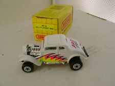 1990 MATCHBOX SUPERFAST MB #69 WHITE '33 WILLY'S PRO STREET ROD NEW IN BOX