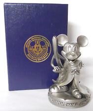 VINTAGE! 1994 Walt Disney Disneyana Convention Pewter Figurine-Mickey Mouse