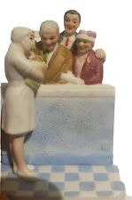 """New Baby Gift Norman Rockwell Figurine """"New Arrival"""" Museum Collections 1987"""