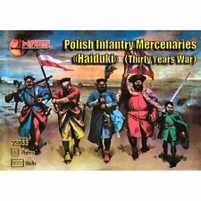 Mars 72033 Polish Infantry Mercenaries 1/72 Plastic scale model kit
