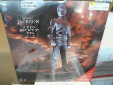 Michael Jackson GREATEST HITS Laser Disc SEALED UNOPENED