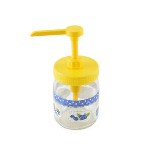 Honigpumpe Honigdosierer Honigspender Honig Dosierer Spender mit 2 Deckeln PH