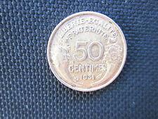 50 centimes Morlon bronze-alu 1931   TTB
