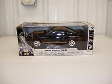 1/18th 2006 Ford GT-H Shelby Mustang Collectibles Diecast Car black gold stripes