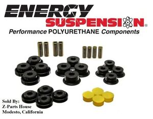 Rear Control Arm Bushings for JEEP TJ (97-06) by Energy Suspension 2.3107G