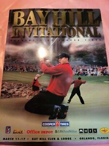 RARE 2002 BAY HILL Invitational PGA Tour OFFICIAL MAGAZINE Program TIGER WOODS