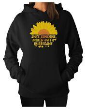 Cute Sunflower Graphic Sweatshirt Casual Top Girls Women Hoodie