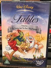 Walt Disney Fables Volume Four (Dvd) The Tortoise And The Hare, Pal Format!