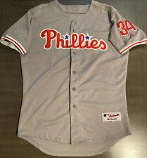 Roy Halladay #34 Philadelphia Phillies Majestic Men's Jersey Size 52