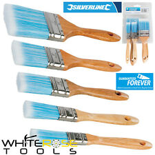 Silverline Synthetic Brush Set 5 Pcs 19mm 25mm 40mm 50mm 75mm