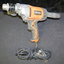 """Rigid R7122- 9 Amp Corded 1/2"""" Spade Handle Mud Mixer Good condition Ao4031686"""