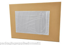 "10000 Clear Packing List Envelope 7"" x 10"" Back side load w/ Free Shipping"