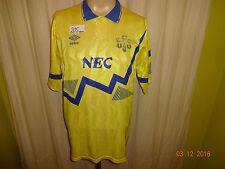 """Everton FC Original Umbro dehors maillot 1990-1992 """"nec"""" taille L Top"""