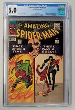 Amazing Spider-Man #37 CGC 5.0 - 1st Norman Osborn Appearance - New Case