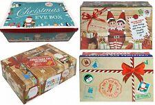 Christmas Eve Box Christmas Gift Box Xmas Box 4 Styles 26.5 x 17 x 8.5cm