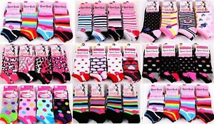 48 PAIRS LADIES WOMENS TRAINER LINER SPORTS SOCKS Girls Funky Design Size 4 6 7