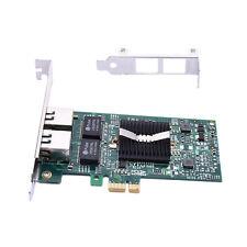 Gigabit Ethernet LAN PCI-E Express Network Card Desktop Controller 1000M Dual
