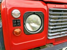 Land Rover Defender Series Light Blanking Plate Light Grill TD5 Puma Union Jack