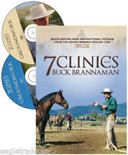 7 Clinics with Buck Brannaman, Discs 1 & 2: Groundwork - Brand New Sealed