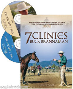7 Clinics with Buck Brannaman, Discs 1 & 2: Groundwork - Brand New Sealed