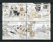 Macau Macao 2017 MNH Back to Common Roots 4v Block Cultures Traditions Stamps