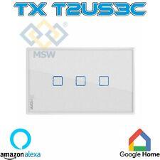 SONOFF TX T2US3C Interruttore Smart a parete Wifi 3 tasti con RF Cassette 503