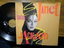 "JANET JACKSON ""CONTROL"" 45 PS"