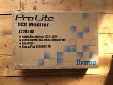 "Iiyama ProLite E2283HS-B3 22"" LED Full HD Monitor"