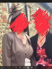 Mother of the Bride Outfit, shoes, handbag and fascinator.