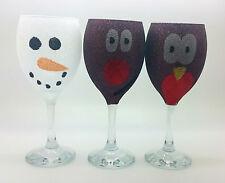 3 paillettes de décoration de noël table de fête boisson cadeau