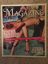 TIMES MAGAZINE WAGS UNDER COVER NEW FOOTBALLERS WIVES