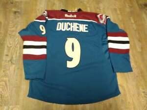 Colorado Avalanche #9 MATT DUCHENE RBK Blue Alternate Jersey: Size 52 (XL)