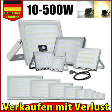 ⭐⭐⭐⭐⭐ LED Fluter Flutlicht Strahler 10W 20W 50W 100W 500W Scheinwerfer UltraDünn