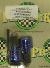 Pro Tek Motorcycle Bar Ends BE-30 BLUE Suzuki GSXR 600 750 1000 Honda F2 F3 F4