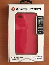 iCOVER PROTECT BUMPER CASE FOR iPHONE 4 & 4S (Pink)