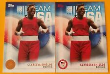 5 Card Lot 2016 Topps Olympic #16 April Ross Base,Bronze,Silver,Gold,#OD-13!!!