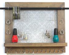 Jewelry Hanger Earring Necklace Organizer Holder Rack Wall Mount