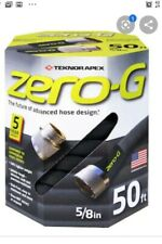 Zero-G 5/8-in X 50-ft Premium-Duty Kink Free Gray Woven Tru-Flex Light Hose NEW