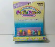 My Little Pony G1 Vintage MOC petite ponies unopened new ponytail petites