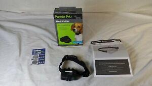 Premier Pet Bark Collar GBC00-16295 8lb+ broken battery cover - AS IS